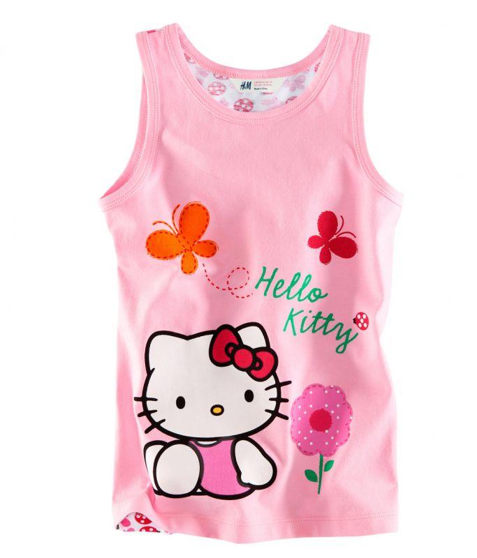 Hello kitty детские футболки